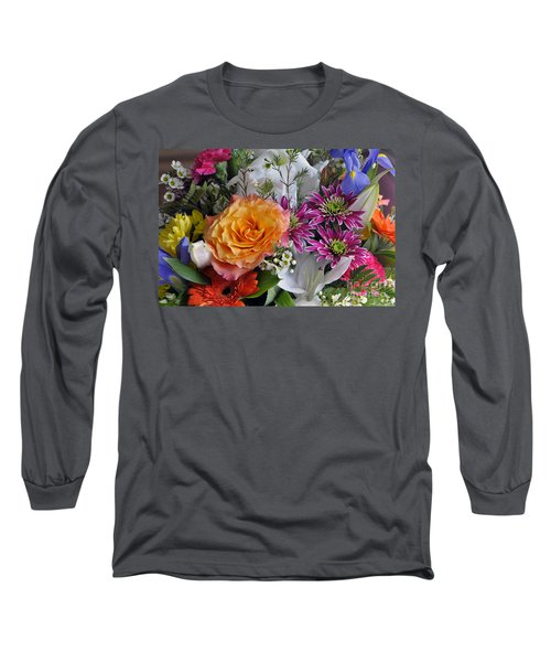 Floral Bouquet 6 Long Sleeve T-Shirt