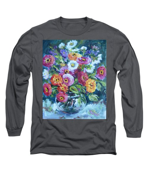 Floral Explosion No. 2 Long Sleeve T-Shirt