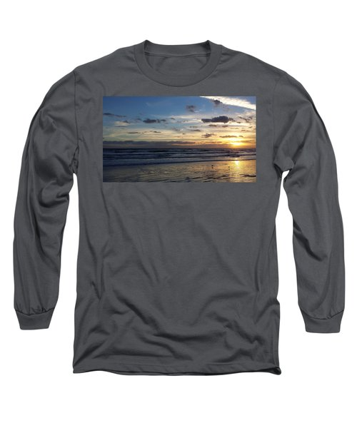 Long Sleeve T-Shirt featuring the photograph Florida Sunrise by Ally  White