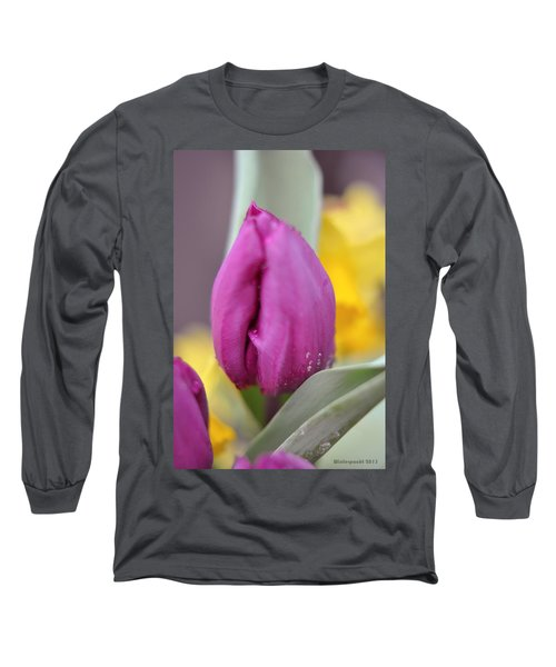 Flower In The Spring Long Sleeve T-Shirt