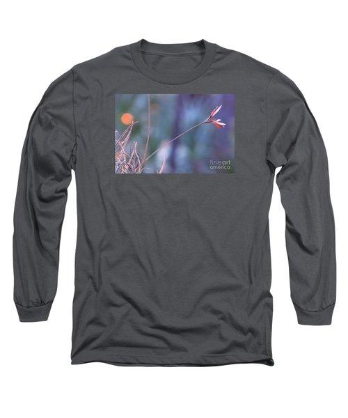 Flowering Moss Long Sleeve T-Shirt by Joy Hardee