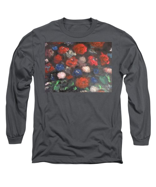 American Floral Long Sleeve T-Shirt
