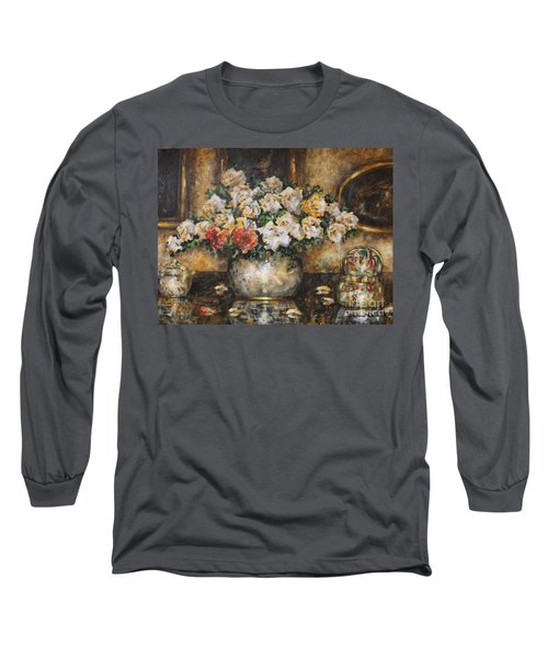 Flowers Of My Heart Long Sleeve T-Shirt