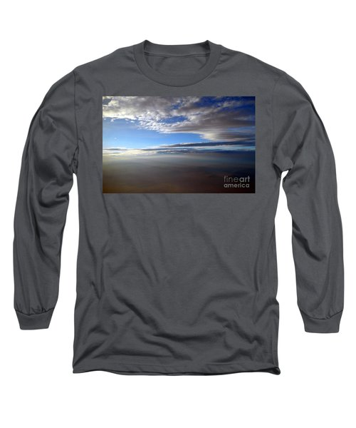 Flying Over Southern California Long Sleeve T-Shirt