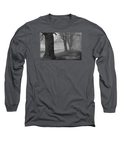 Long Sleeve T-Shirt featuring the photograph Foggy Day by Randi Grace Nilsberg