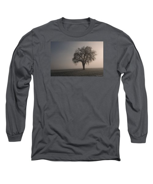Foggy Morning Sunshine Long Sleeve T-Shirt