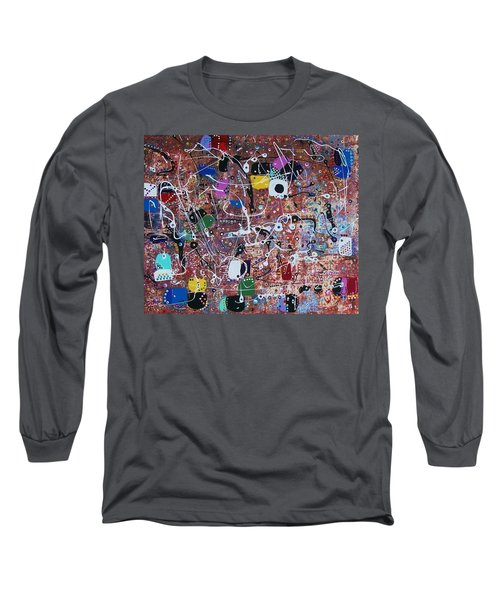 For Computer Geeks With Love Long Sleeve T-Shirt