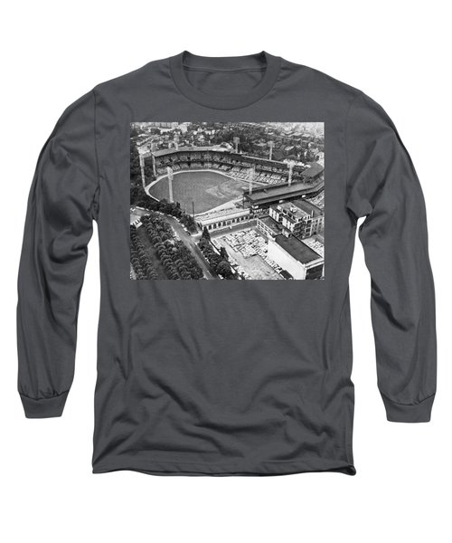 Forbes Field In Pittsburgh Long Sleeve T-Shirt