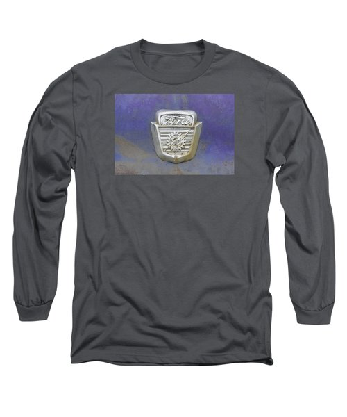 Ford Emblem Long Sleeve T-Shirt by Laurie Perry