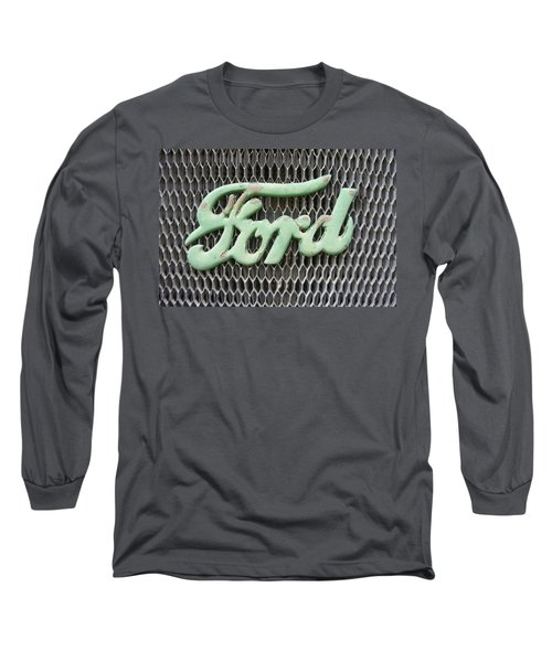 Ford Grille Long Sleeve T-Shirt by Laurie Perry