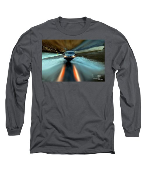 Fording The Jordan Long Sleeve T-Shirt