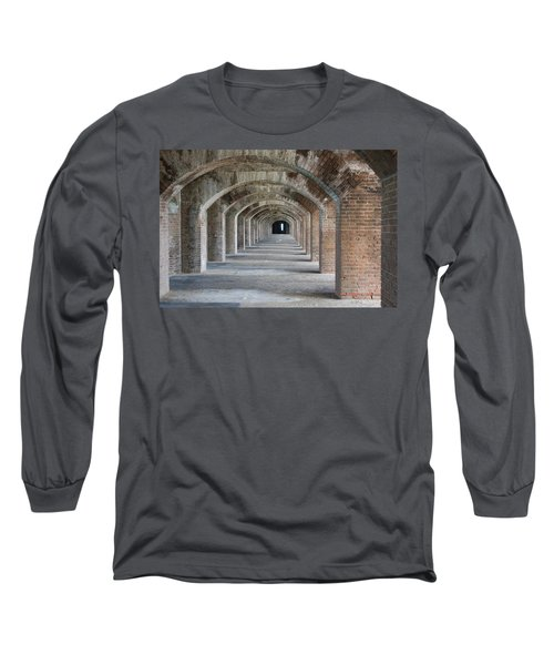 Fort Jefferson Arches Long Sleeve T-Shirt