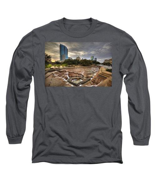 Fort Worth Water Garden Long Sleeve T-Shirt