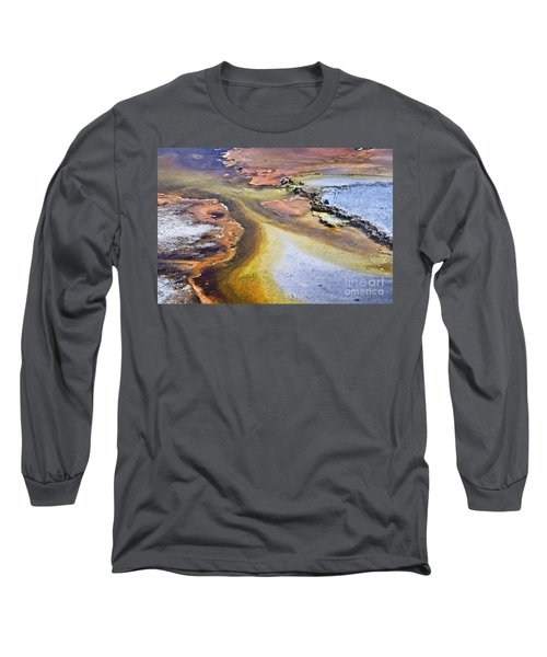 Fountain Paint Pot Long Sleeve T-Shirt