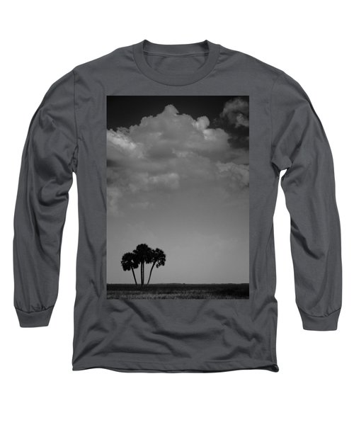 Four Palms Long Sleeve T-Shirt by Bradley R Youngberg