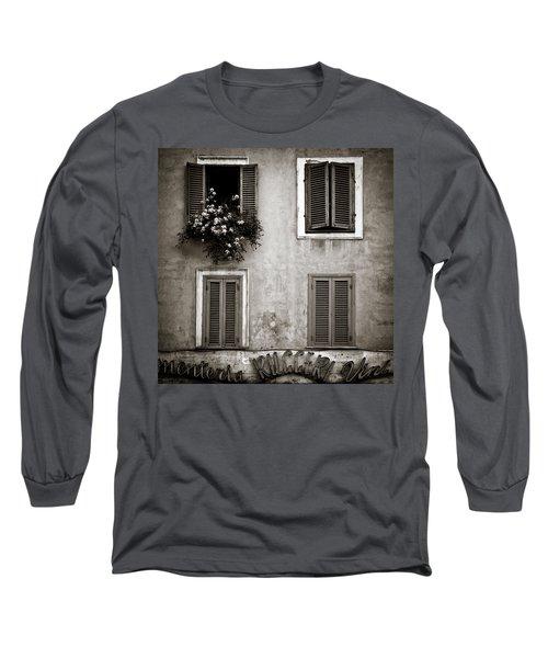 Four Windows Long Sleeve T-Shirt