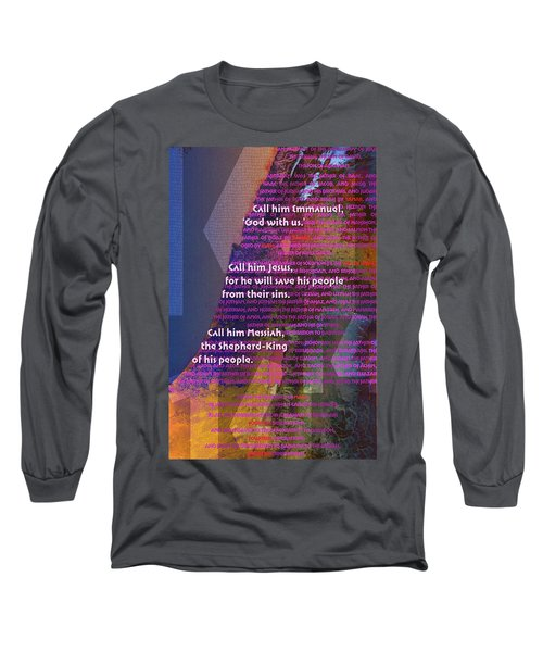 Fourteen Generations Long Sleeve T-Shirt by Chuck Mountain