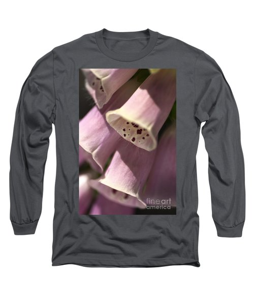 Long Sleeve T-Shirt featuring the photograph Foxglove by Joy Watson