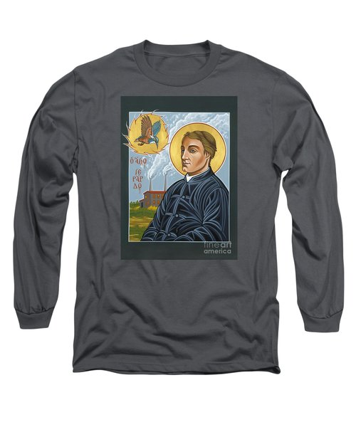 Fr. Gerard Manley Hopkins The Poet's Poet 144 Long Sleeve T-Shirt by William Hart McNichols