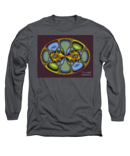 Fractal Art Egg Long Sleeve T-Shirt
