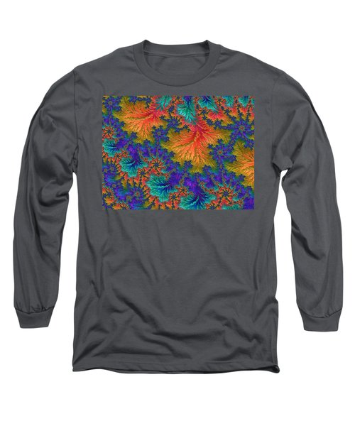 Fractal Jewels Series - Jubilation Long Sleeve T-Shirt
