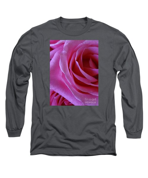 Face Of Roses 2 Long Sleeve T-Shirt by Gem S Visionary