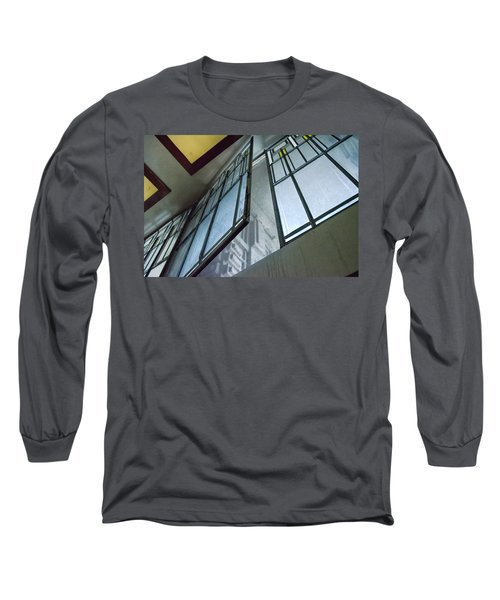 Frank Lloyd Wright's Open Window Long Sleeve T-Shirt