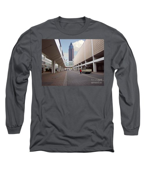 Frankfurter Messe Turm Long Sleeve T-Shirt