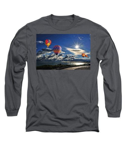 Free As A Bird Long Sleeve T-Shirt by Andrea Kollo