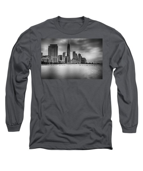 Freedom In The Skyline Long Sleeve T-Shirt