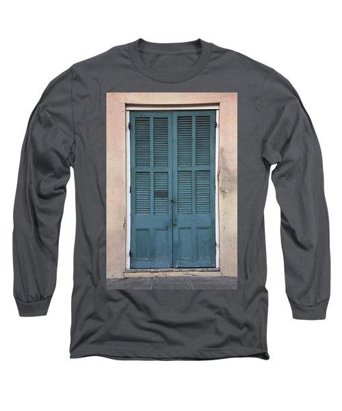 French Quarter Doors Long Sleeve T-Shirt