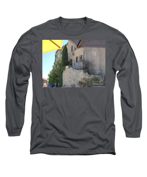Long Sleeve T-Shirt featuring the photograph French Riviera - Ramatuelle by HEVi FineArt