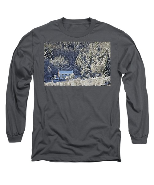 Fresh Snow Long Sleeve T-Shirt by Tom Culver