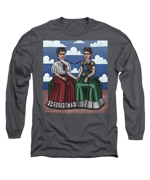 Frida Beside Myself Long Sleeve T-Shirt