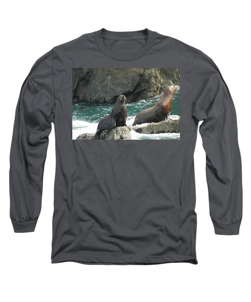 Friends In Alaska Long Sleeve T-Shirt