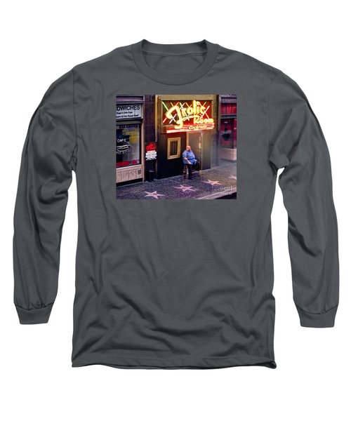 Frolic Room.hollywood Blvd Long Sleeve T-Shirt by Jennie Breeze