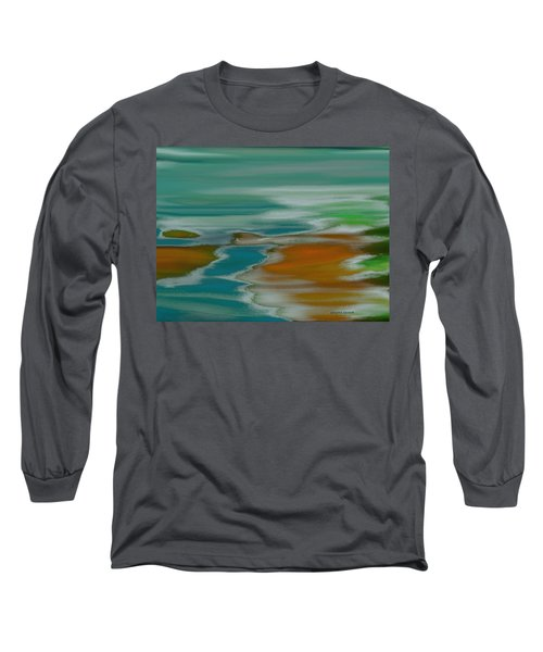 From The River To The Sea Long Sleeve T-Shirt by Lenore Senior