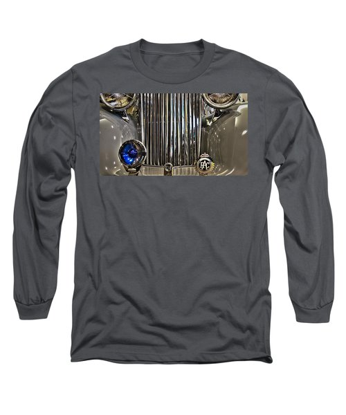 Front Detail 1947 Jaguar Long Sleeve T-Shirt