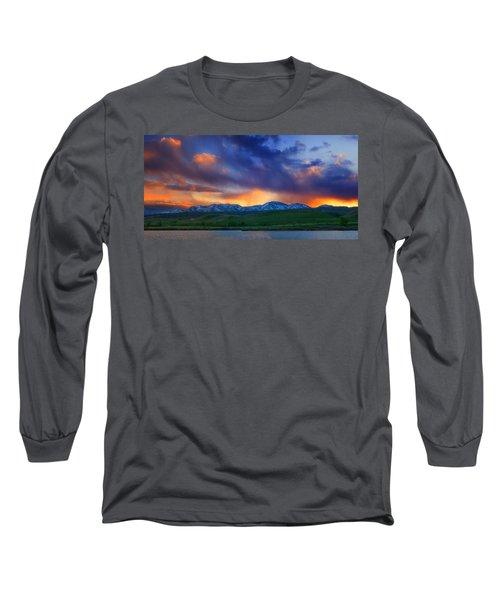 Front Range Light Show Long Sleeve T-Shirt