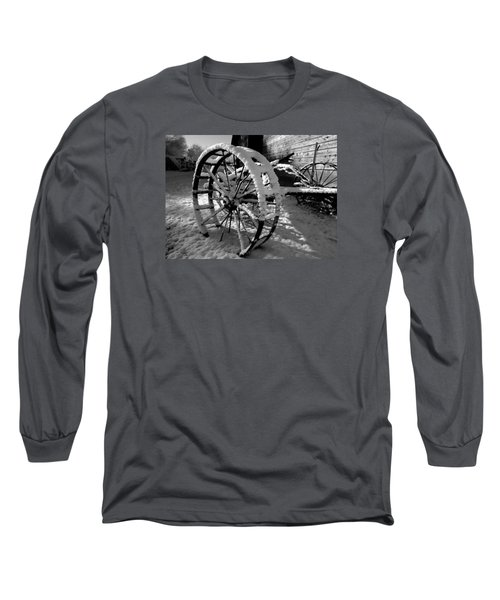 Frozen In Time Long Sleeve T-Shirt by Steven Milner