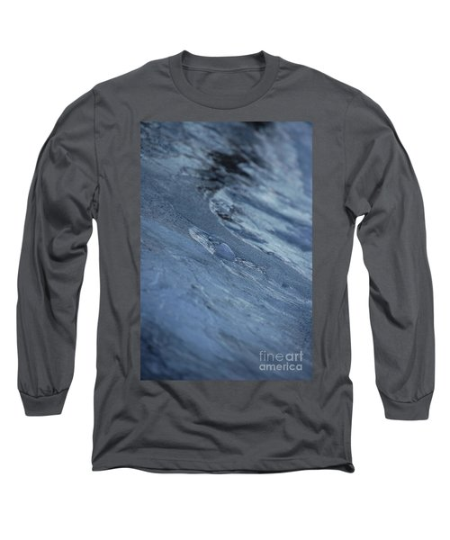 Long Sleeve T-Shirt featuring the photograph Frozen Wave by First Star Art