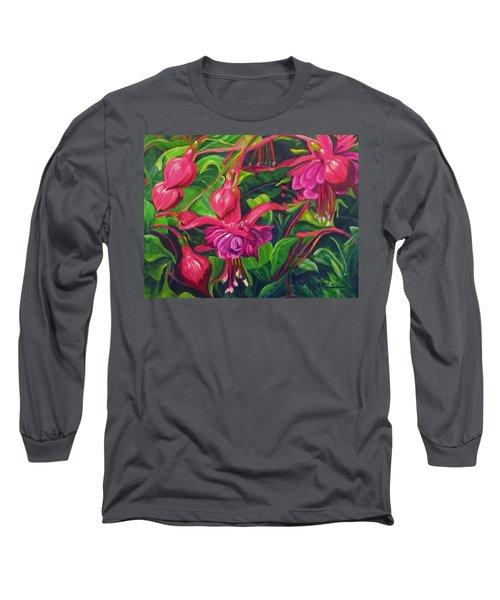 Fuchsia Fantastic Long Sleeve T-Shirt
