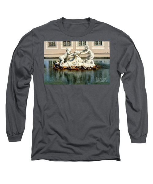 Long Sleeve T-Shirt featuring the photograph Fun On The Water by Mariola Bitner