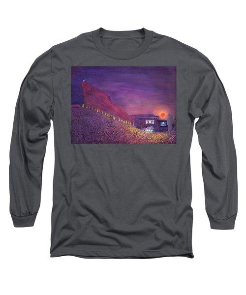 Furthur Red Rocks Equinox Long Sleeve T-Shirt