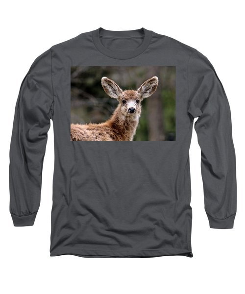 Fuzzy Fawn Long Sleeve T-Shirt