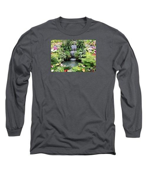 Garden Waterfall Long Sleeve T-Shirt