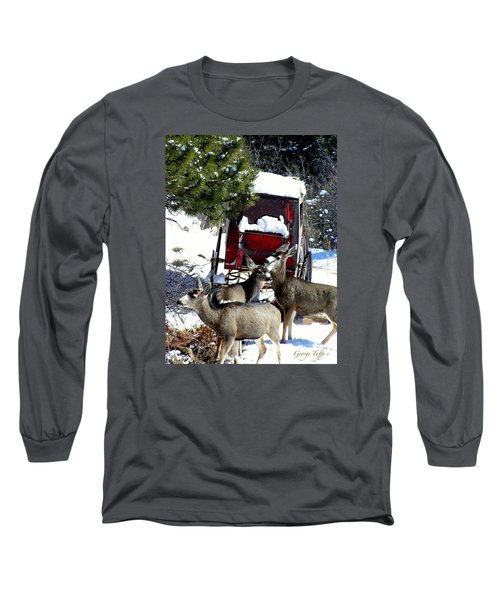 Gathering At The Old Stage Coach.. Long Sleeve T-Shirt