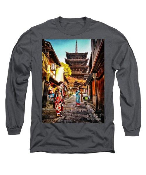 Geisha Temple Long Sleeve T-Shirt