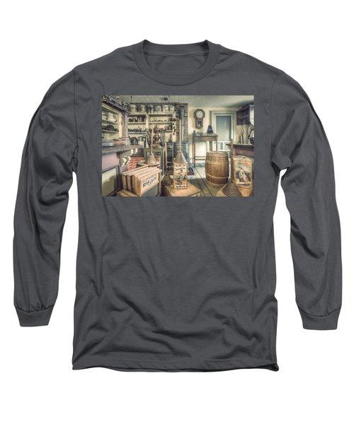 General Store - 19th Century Seaport Village Long Sleeve T-Shirt