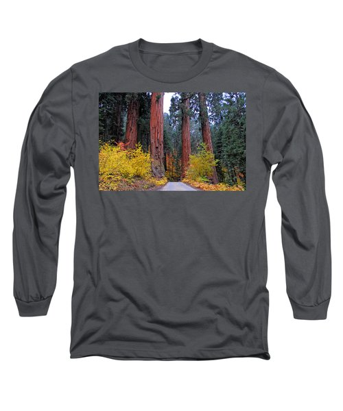 Long Sleeve T-Shirt featuring the photograph General's Highway by Lynn Bauer